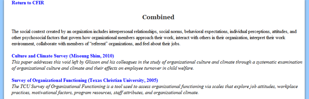 assessing organizational culture essay example Evidence-based practice proposal - section a: organizational culture and readiness assessment (essay sample).